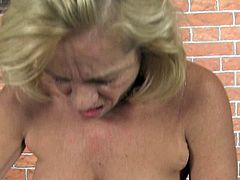 Although she is a lady at certain age she still knows whar oral sex is all about. She lets her lover get a taste of her delicious pussy. Then they give pleasure to each other in 69 position.