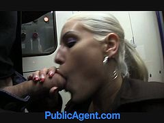 What a hot and sexy babe she is! She got a sexy haircut on her twat and the way she gives a blowjob is just divine! Nice and tight twat!