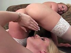Cute lesbian blonde babe thrusts fingers inside her friends wet pussy and make her cum.Watch these sexy blonde lesbians spend time with each other.by pleasing their tight pussies with their fingers and tongue.
