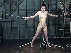 If you haven't tasted the nature of BDSM and fetishism, then this video with a naughty sex slave Lorelei Lane is a damn