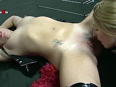 Watch this hottie getting her wet and tight pussy finger drilled by her bestie who is a little bit lesbian in Filthy and Fisting sex clips.