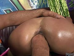 Gonzo fuck video presented by Filthy and Fisting porn studio. Raunchy bitch Klarisa Leona gets on top of massive dong riding like crazy. She also gets her loose pussy fisted bad in hardcore scene.