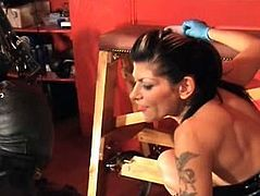 Mistress Dometria Gaping Ass StrapOn