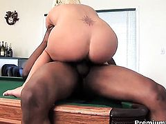 Staci Thorn has interracial sex of her lifetime with horny dude