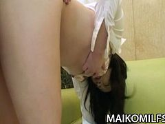 Megumi Muroi gets hairy pussy fucked hard by this fucker in mask. There is no stopping the fun as this Japanese whore opens wide for non-stop extreme adventures.