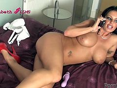 Kerrie Louise and Natalia Forrest are going to use their tongues, fingers and sex toys to give lesbian pleasure to each other.