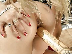 Nikky Thorne cant live a day without getting her pussy fingered by lesbian Chary