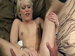 Slim doll with perky tits gets ravaged in amazingly hot POV fuck session