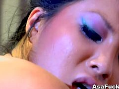 Asa Akira is always down for some hardcore banging with big dicked dudes. Watch as she opens her legs super wide to receive some extremely hardcore banging.