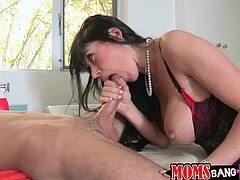 A fuckin' horny couple of bitches suckin' and riding this dude's hard fuckin' dick, hit play and check it out right here!