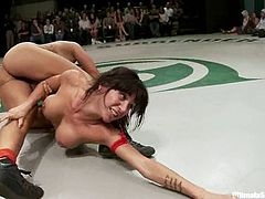 Nasty girls fight uncompromisingly in Ultimate Surrender tournament. Then the winning chicks get their pussies licked.