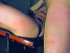 A lewd dark-haired mature lady comes to a gynecologist to get her snatch examined. The doctor fingers the pussy ardently and then fucks it in missionary position.
