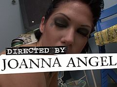 Burning Angel brings you a spectacular trailer where you can see how some tattooed punk sluts dildo their sweet pink cunts into heaven while assuming very hot poses.