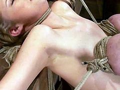 Darling and Katie Kox are two sirens that love being treated like shit! Chicks get naked and start making some painful love.