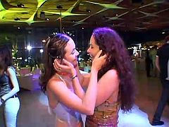 Bride Is Kissing With Another Girl