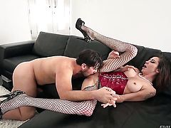 Princess Donna and Manuel Ferrara are so fucking horny in this anal action after cock sucking