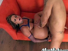 Bubble butt hottie Flower Tucci gets fucked from behind