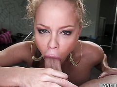 Senorita with juicy ass is on the edge of nirvana after sensual sex with lesbian Nikki Delano