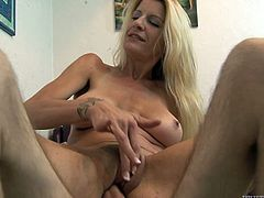 She is such a naughty one! Honey is going to take that thick cock in her mouth and then her hairy pussy gets drilled so fucking hard.