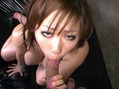Big boobs Japanese babe does her best today. All holes of her hot blooded body wish to be filled with honey sweet cum of that brutal stud. Watch this hot Japanese whore in Jav HD porn clip!