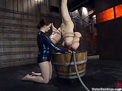 water torture for a humiliated slut