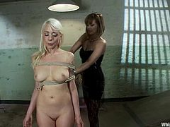 What a nasty and disgusting sex story in a BDSM style this is! Horny Maitresse Madeline is going to humiliate Lorelei Lee.