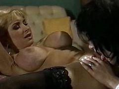 If you are a true fan of lesbian porn then this amazing sex video is worth your attention. There's nothing like watching these classy lesbians licking each other's sweet pussies.