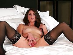 Shae Snow cant live a day without touching her wet hole