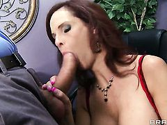 Ramon has a great time banging Syren De Mer with massive breasts in the anal hole