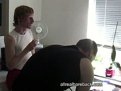 These German gays have an arsenal of toys prepared for their sex marathon. They walk around naked and suck each others cocks as a foreplay to what's coming.