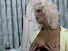 Hot blooded good looking light head lewd babe with massive Monkey Lumps got divine pleasure of strong doggy style hammering. Watch this busty hootchie in The Classic Porn sex clip!