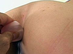 Sweetie Miki Uehara receives ass stimulation prior to her anal hard fuck