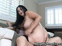 Sophia Lomeli with big boobs feels like she is Billy Glides fuck toy