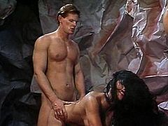 Hotties banged in the cave of lust