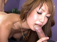 Light head big assed Asian bitchy sex pot got her ugly saggy kitty and smelly corn hole harshly attacked many times. The last poking was that of pussy and asshole at once. It was hardcore one. watch this dirty 3some fuck in Jav HD porn clip!