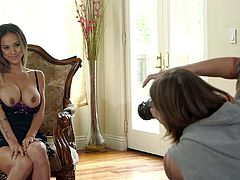 Rough sex with the cock thirsty mom Nadia Styles