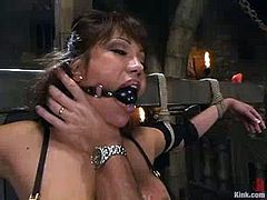 Ava Devine gets her cunt fisted, toyed and fucked hard by Mark Davis