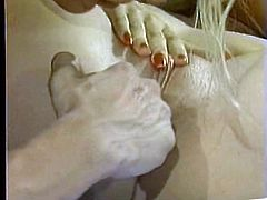 Broad assed big boobs light haired rapacious sex bomd gets her fuck starving hot blooded dirty hole energetically licked and fingered by cunny haunted dude. Watch this sweet rim job in The Classic Porn sex clip!