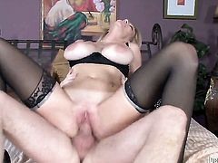 Dane Cross makes his rock solid pole disappear in unthinkably sexy Charlee Chases mouth