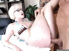 Billy Glide has a nice time banging Nora Skyy