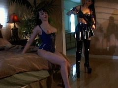Amazing lesbians are in for some nasty stuff during top femdom porn show