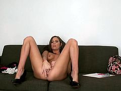 Have a look at this hardcore scene where the beautiful Kylie Kane ends up with her face covered by cum after being drilled by this guy.