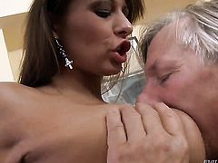 Alison Star is totally addicted to butt fuck and Christoph Clark knows it after headjob
