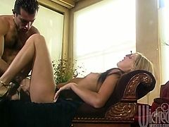 Ashley Long is beautiful! She can work and milk a cock like a pro! She bends over and offers up that snatch to get fucked for his pleasure!