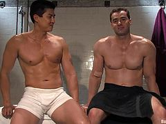 Gay BDSM scene is on your screen and you are going to enjoy what these horny motherfuckers are going to do with each other!