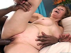 Make sure you have a look at this hardcore scene where a slutty granny by the name of Izida is gangbanged y horny fellas.