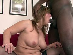 Needy mature Maxia is crazy about having her fatty cunt and warm mouth nailed right