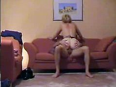 Threesome with friend at home