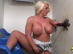 Goddess MILF Was Fingering Her Cunt When Golryhole Rod Showed Up