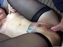 Great sex with the horny mature Lauren